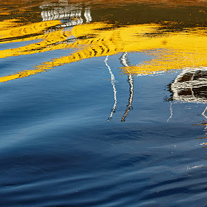 Yellow reflection